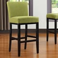 Handy Living Oslo 29'' Bar Stool ; Green Linen