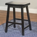 TMS Arizona 24'' Bar Stool; Black