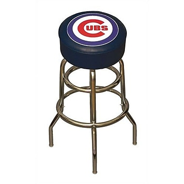 Imperial MLB 30'' Swivel Bar Stool; Chicago Cubs