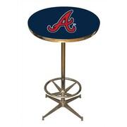 Imperial MLB Pub Table; Atlanta Braves
