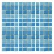 Epoch Spongez 1'' x 1'' Glass Mosaic Tile in Blue