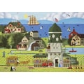 Willow Creek Press Flower Barn Puzzle