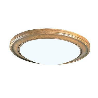 Radionic Hi Tech Biscayne 2-Light Flush Mount