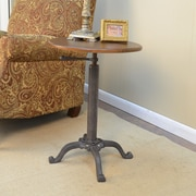 Carolina Cottage Colton Adjustable Vintage Accent Table
