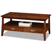 Leick Delton 2 Drawer Coffee Table