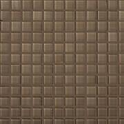 Emser Tile Lucente 1'' x 1'' Glass Mosaic Tile in Soft Mauve