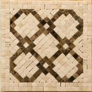 Emser Tile Natural Stone 4'' x 4'' Honed Marble Scelto Listello Corner
