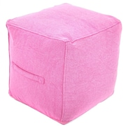 Found Object Ottoman; Pink