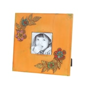 Wilco Wood Picture Frame; Orange