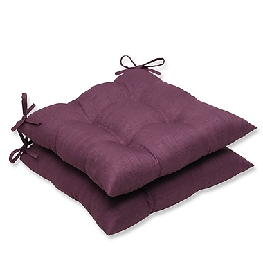 Pillow Perfect Rave Outdoor Dining Chair Cushion (Set of 2); Vineyard