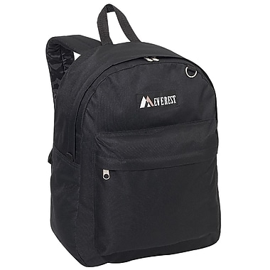Everest Traditional Backpack; Black