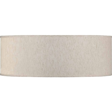Volume Lighting 24'' Linen Drum Pendant Shade