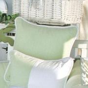 Brandee Danielle One Little Froggie Green Decorator Throw Pillow