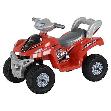 Best Ride On Cars Lil Kids Ride On 6V Battery Powered ATV; Red