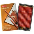 Derwent Drawing Pencil Color Tin (Set of 12)