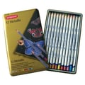 Derwent Metallic Pencil Color Tin (Set of 12)