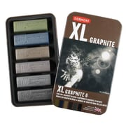 Derwent Color Graphite Block (Set of 6)