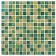 Onix USA Classy 4/5'' x 4/5'' Glass Frosted Mosaic in Jamaica