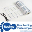 Radimo Radimat 120V Under Floor Heating System; 20 sq. ft. Roll (20'' x 12')