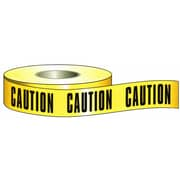 MorrisProducts 3'' x 200' Barricade Caution Tape in Yellow