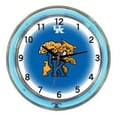 Wave 7 NCAA 18'' Team Neon Wall Clock; Kentucky