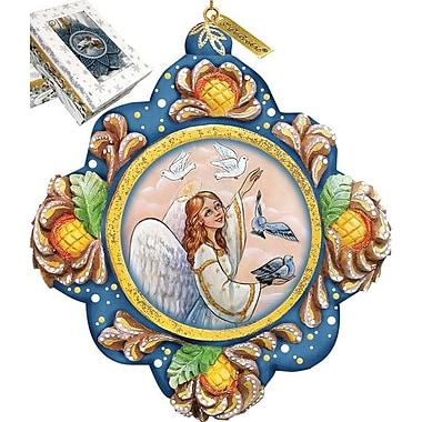 G Debrekht Beautiful Peace Ornament