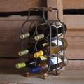 Cape Craftsmen Everyday Retro 6 Bottle Tabletop Wine Rack