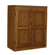 Concepts in Wood 2 Door Storage Cabinet; Dry Oak