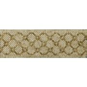 Emser Tile Natural Stone 12'' x 4'' Honed Marble Savona Listello