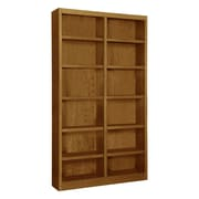 Concepts in Wood Double Wide 84'' Standard Bookcase; Dry Oak