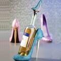 Cypress Polystone Rhinestone High Heel Wine Bottle Holder (Set of 3)