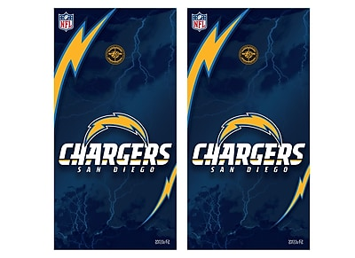 Tailgate Toss NFL Vinyl Shield; San Diego Chargers WYF078275798827