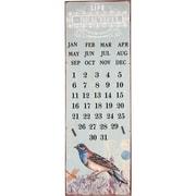 Wilco Home Eternal Calendar Graphic Art Plaque