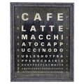 Wilco 'Cafe...' Textual Art Plaque