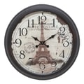 Aspire 22'' Eiffel Tower Wall Clock