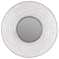 Urban Trends Home and Garden Accents Circle Mirror