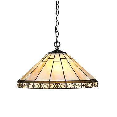 Chloe Lighting Mission 2 Light Billiard Light