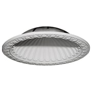 Ekena Millwork Claremont 47 3/8''H x 47 3/8''W x 10 3/8''D Recessed Mount Ceiling Dome