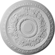 Ekena Millwork Cambridge 17.63''H x 17.63''W x 1.13''D Ceiling Medallion