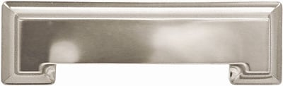 HickoryHardware Studio Cup/Bin Pull; Stainless Steel WYF078276301092