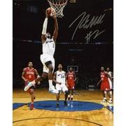 Mounted Memories John Wall Washington Wizards vs Philadelphia 76ers Photograph