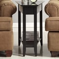 Convenience Concepts American Heritage End Table; Black