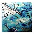 Metal Art Studio 22'' Cool Jazz Wall Clock