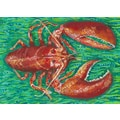 My Island Lobster Canvas Mat