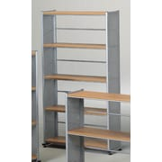 Mayline Eastwinds Bookcases; Anthracite