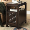 Coast to Coast Imports End Table; Fairfax Hills Brown