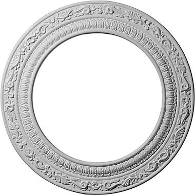 Ekena Millwork Andrea 12''H x 12''W x 0.5''D Ceiling Medallion