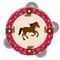 Sassafras Tambourine in Western Design