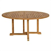 Three Birds Casual Oxford Round Dining Table; 60''