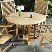 Three Birds Casual Oxford Round Dining Table; 42''